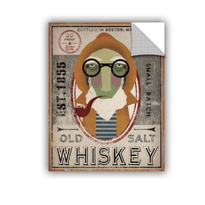 Brushstone Fisherman II Old Salt Whiskey RemovableWall Decal