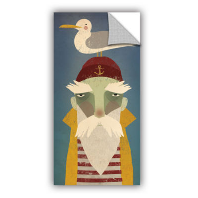 Brushstone Fisherman VIII Removable Wall Decal
