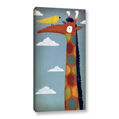 Brushstone Giraffe Gallery Wrapped Canvas Wall Art