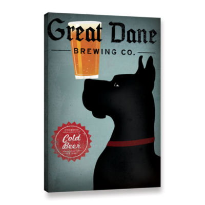 Brushstone Great Dane Brewing Co Gallery Wrapped Canvas Wall Art