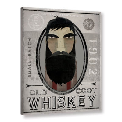 Brushstone Lumberjack Whiskey Gallery Wrapped Canvas Wall Art