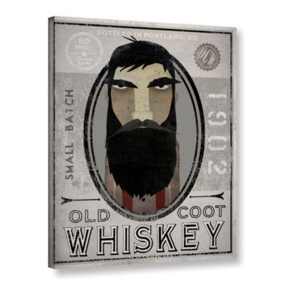 Brushstone Lumberjack Whiskey Gallery Wrapped Canvas Wall Art