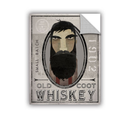 Brushstone Lumberjack Whiskey Removable Wall Decal