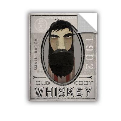 Brushstone Lumberjack Whiskey Removable Wall Decal