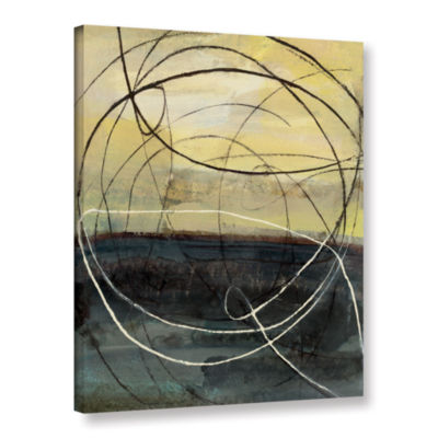 Brushstone At Dawn Crop Gallery Wrapped Canvas Wall Art