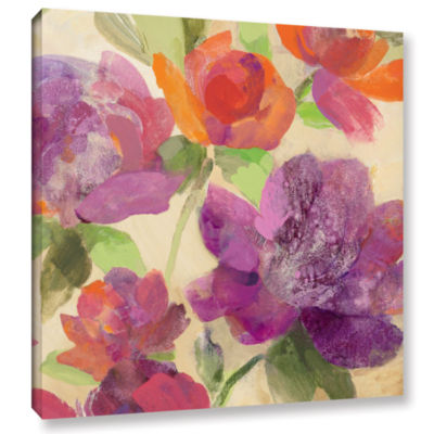 Brushstone Garden Delight IV Gallery Wrapped Canvas Wall Art