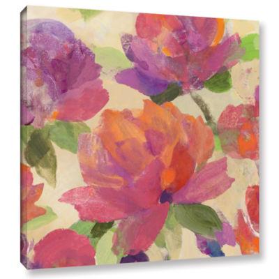 Brushstone Garden Delight V Gallery Wrapped CanvasWall Art