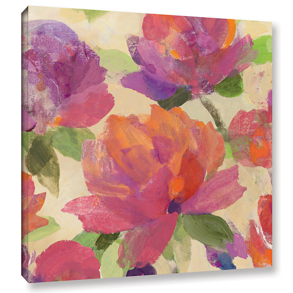 Brushstone Garden Delight V Gallery Wrapped CanvasWall Art