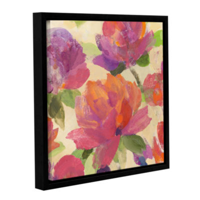 Brushstone Garden Delight V Gallery Wrapped Floater-Framed Canvas Wall Art