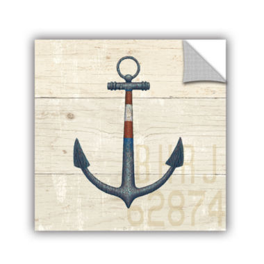 Brushstone Nautique III Removable Wall Decal