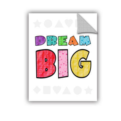 Brushstone Dream Big Removable Wall Decal