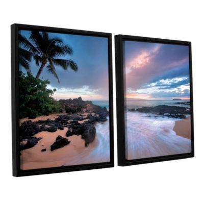 Brushstone Cool Breeze 2-pc. Floater Framed CanvasWall Art