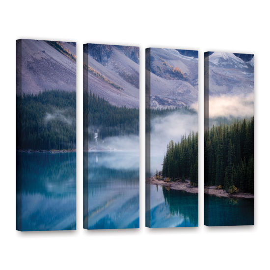 Brushstone Mountain Mist 4-pc. Gallery Wrapped Canvas Wall Art