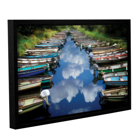 Brushstone What Ever Floats Your Boat Gallery Wrapped Floater-Framed Canvas Wall Art