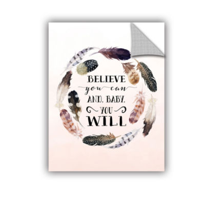 Brushstone Baby You Will Removable Wall Decal