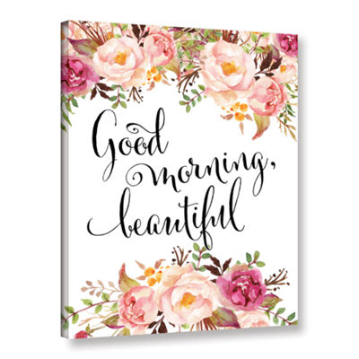 Brushstone Good Morning Beautiful Gallery WrappedCanvas Wall Art