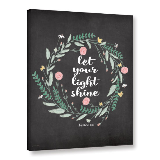 Brushstone Light Shine Gallery Wrapped Canvas WallArt