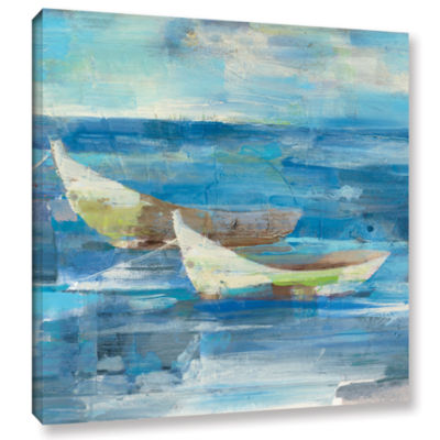 Brushstone Mooring For The Day Gallery Wrapped Canvas Wall Art