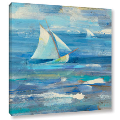 Brushstone Ocean Sail Gallery Wrapped Canvas WallArt