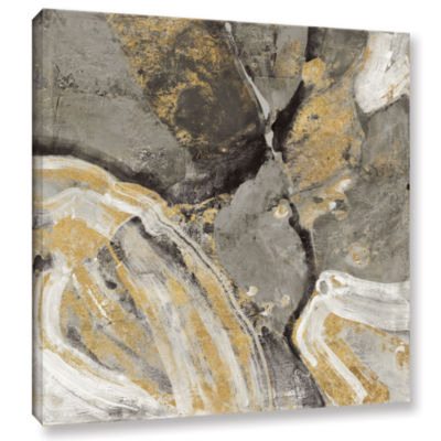 Brushstone Pheonix Neutral Gallery Wrapped CanvasWall Art