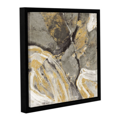 Brushstone Pheonix Neutral Gallery Wrapped Floater-Framed Canvas Wall Art