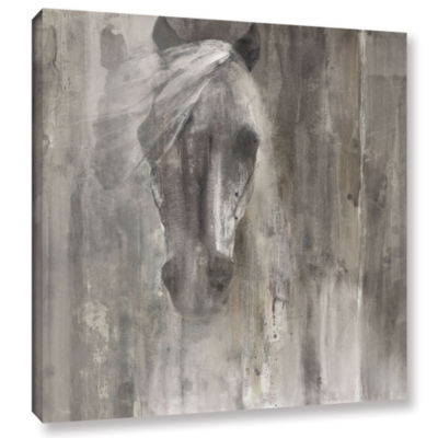 Brushstone Shadow Light Gallery Wrapped Canvas Wall Art