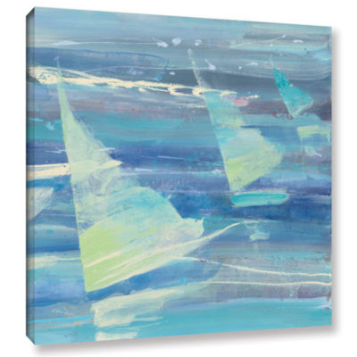 Brushstone Summer Sail II Gallery Wrapped Canvas Wall Art