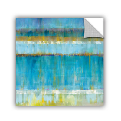 Brushstone Abstract Stripes Removable Wall Decal