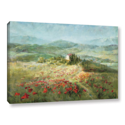 Brushstone Summer In Provence Gallery Wrapped Canvas Wall Art