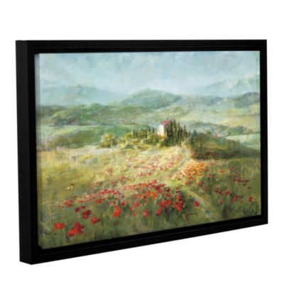 Brushstone Summer In Provence Gallery Wrapped Floater-Framed Canvas Wall Art