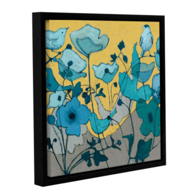 Brushstone Birdy Birdy Gallery Wrapped Floater-Framed Canvas Wall Art