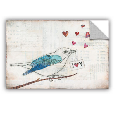 Brushstone Love Birds I Joy Removable Wall Decal