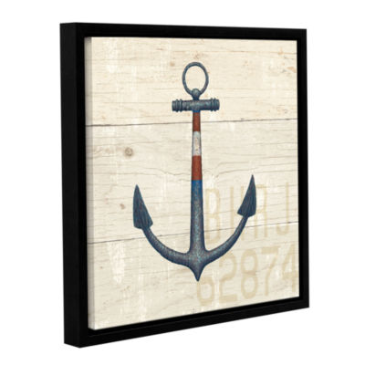 Brushstone Nautique III Gallery Wrapped Floater-Framed Canvas