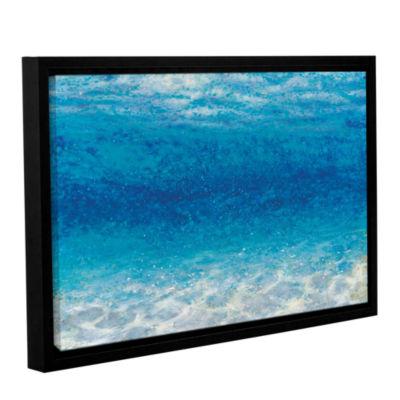 Brushstone Underwater I Gallery Wrapped Floater-Framed Canvas