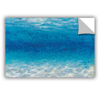 Brushstone Underwater I Removable Wall Decal