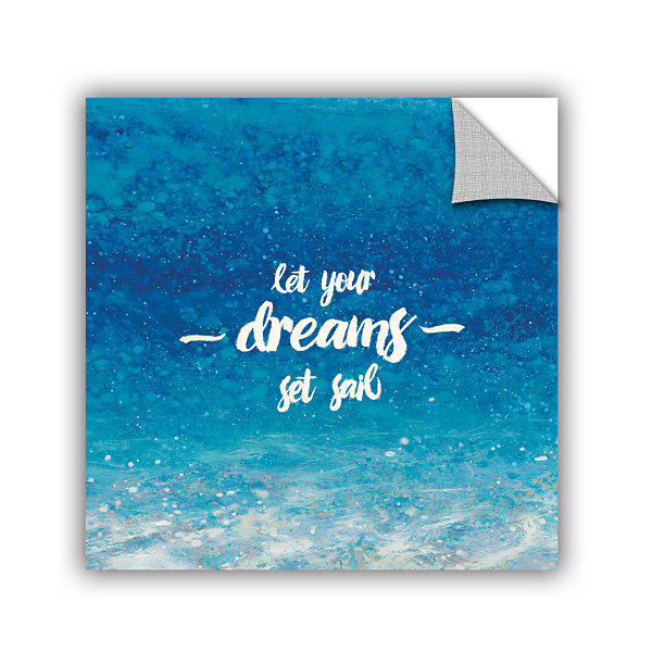 Brushstone Underwater Quotes II Removable Wall Decal