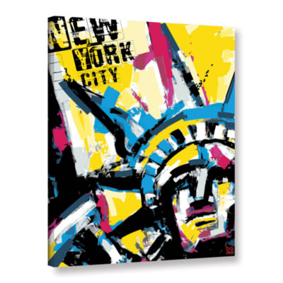 Brushstone NY1 Gallery Wrapped Canvas