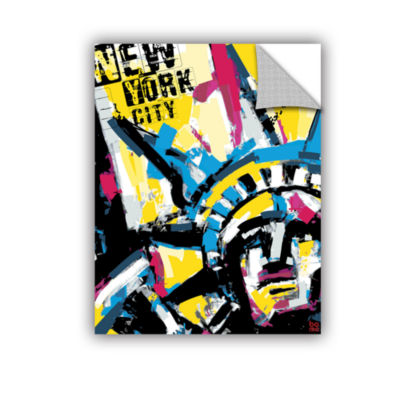 Brushstone NY1 Removable Wall Decal