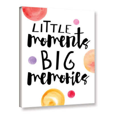 Brushstone Little Moments Gallery Wrapped Canvas