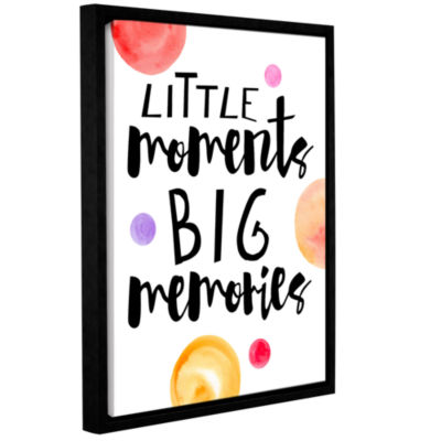 Brushstone Little Moments Gallery Wrapped Floater-Framed Canvas