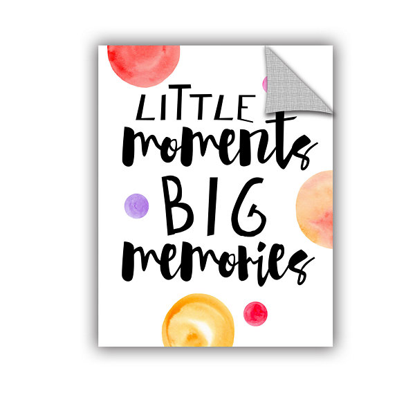 Brushstone Little Moments Removable Wall Decal