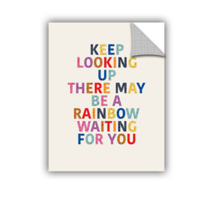 Brushstone Rainbow Waiting For You 3 Removable Wall Decal
