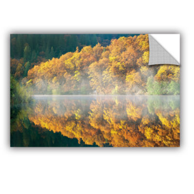 Brushstone Autumn Fog Removable Wall Decal