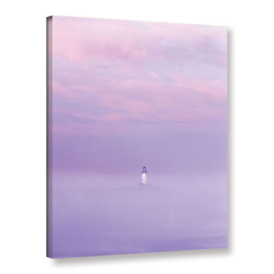 Brushstone Beacon Gallery Wrapped Canvas