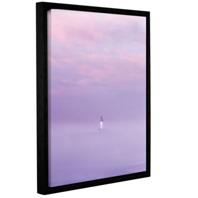 Brushstone Beacon Gallery Wrapped Floater-Framed Canvas
