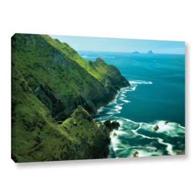 Brushstone Emerald Coast Gallery Wrapped Canvas