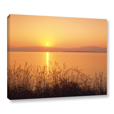 Brushstone Golden Pond Gallery Wrapped Canvas