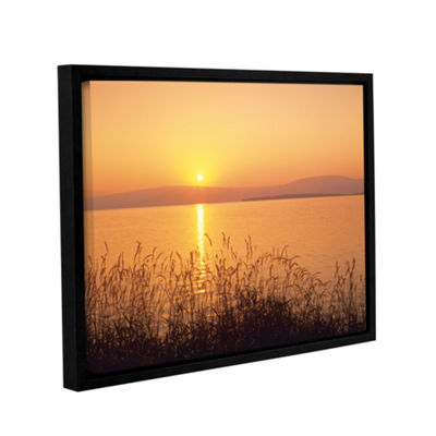 Brushstone Golden Pond Gallery Wrapped Floater-Framed Canvas