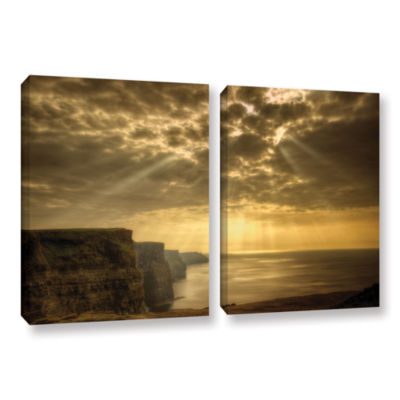 Brushstone Heavenly 2-pc. Gallery Wrapped Canvas Set