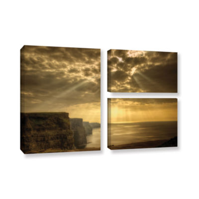 Brushstone Heavenly 3-pc. Gallery Wrapped Canvas Flag Set